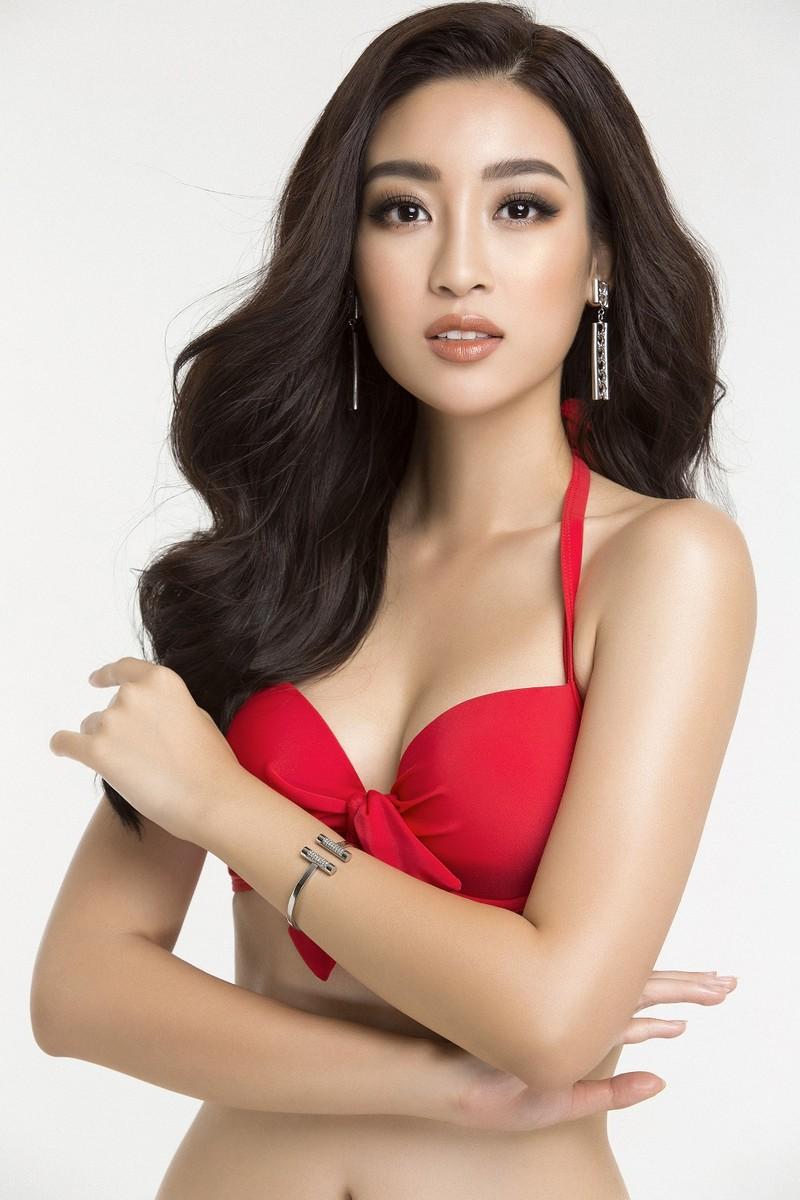 Hoa hậu Mỹ Linh diện bikini trước chung kết Miss World - ảnh 8
