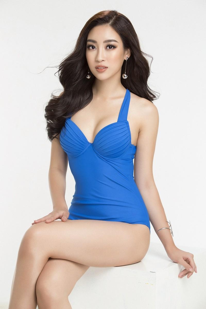 Hoa hậu Mỹ Linh diện bikini trước chung kết Miss World - ảnh 9