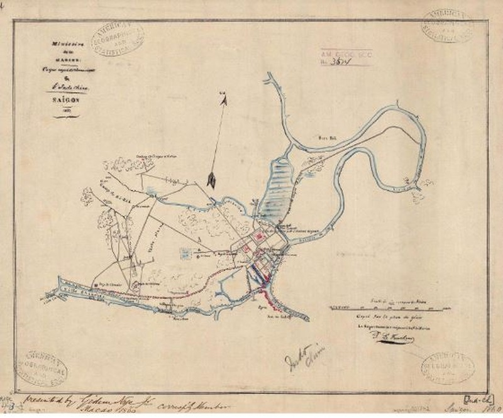 Tái hiện Sài Gòn qua các bản đồ cổ  - ảnh 2