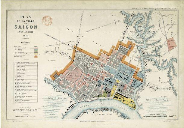 Tái hiện Sài Gòn qua các bản đồ cổ  - ảnh 6