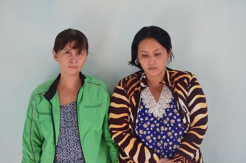 Chở con và em gái đi trộm cắp tài sản - ảnh 1