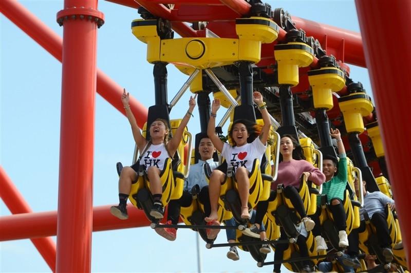 Khai trương công viên chủ đề lớn nhất Đông Nam Á - ảnh 1