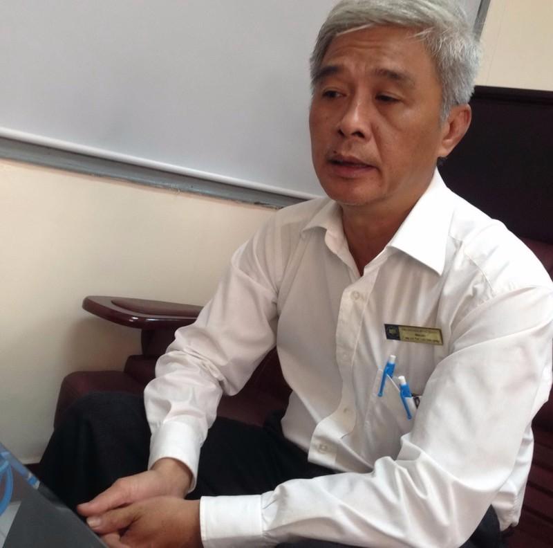 Ông Nguyễn Hùng Phong, Giám đốc Trung tâm Phát triển khởi nghiệp - Trường ĐH Kinh tế TP.HCM.
