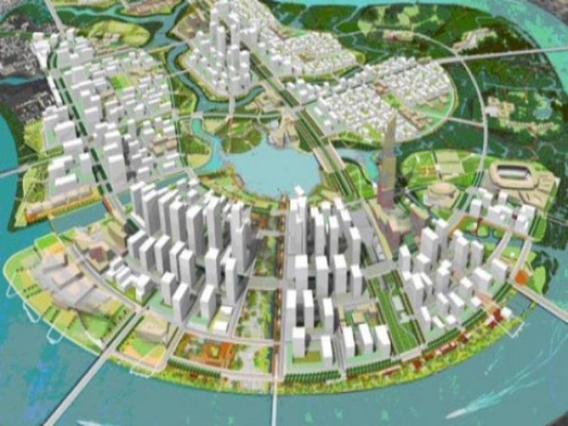 Bản đồ quy hoạch gốc khu đô thị Thủ Thiêm: Chả lẽ không có? - ảnh 1