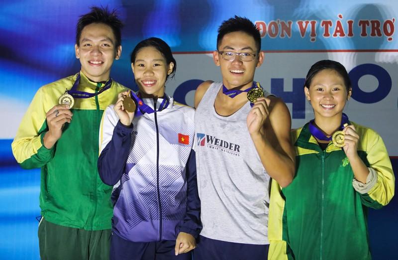 Nguyễn Huy Hoàng hoàn tất hat trick kỷ lục quốc gia - ảnh 4