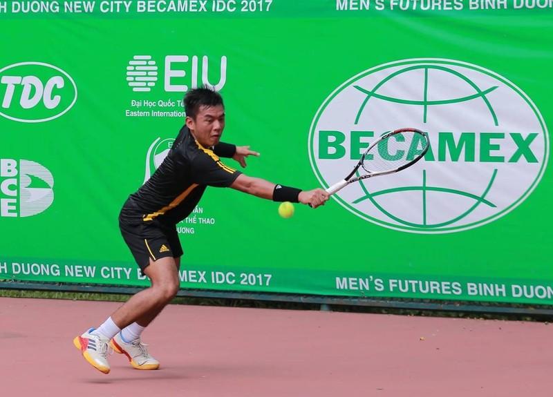 Vất vả hạ Blake Ellis, Hoàng Nam vào vòng 2 giải F2 - ảnh 1