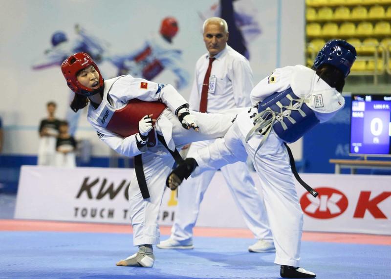Á quân Taekwondo thế giới, Kim Tuyền giành ngôi vô địch châu Á - ảnh 1