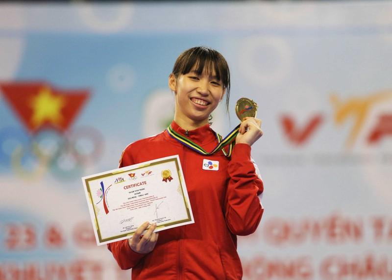 Á quân Taekwondo thế giới, Kim Tuyền giành ngôi vô địch châu Á - ảnh 2