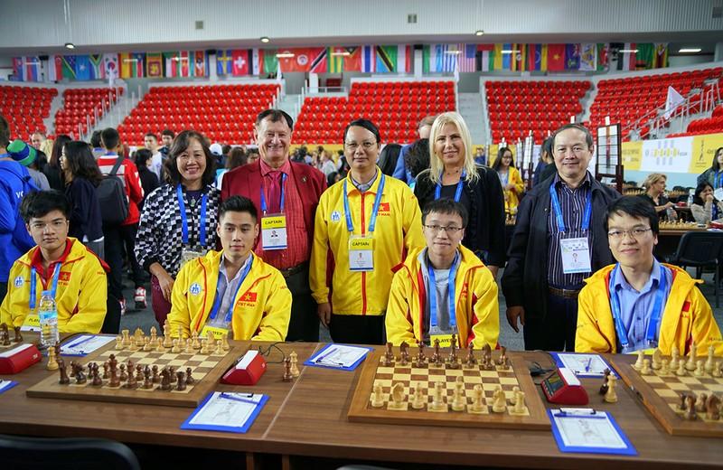 2 đội tuyển Việt Nam nhận trận thua đầu tiên tại Olympiad - ảnh 1
