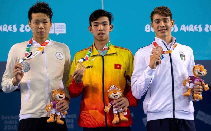 Nguyễn Huy Hoàng phá kỷ lục, đoạt HCV Olympic trẻ - ảnh 3