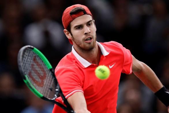 Khachanov 'gieo sầu' ngày Djokovic lên ngôi số 1 thế giới - ảnh 2