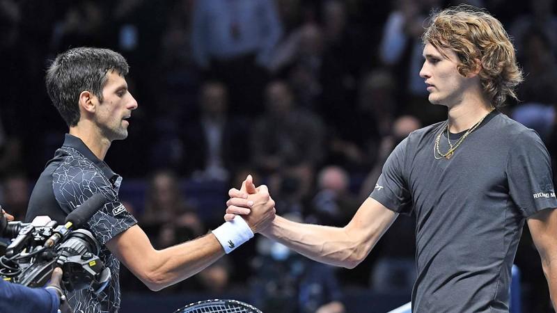 Cách nào Zverev hạ được Djokovic, đăng quang ATP Finals? - ảnh 1