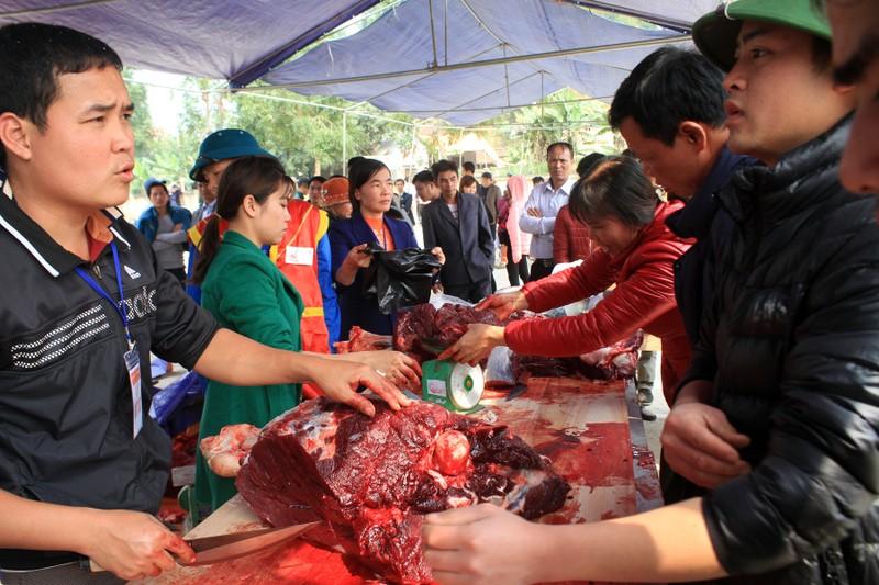 Giá thịt trâu chọi đắt gấp 3 - 4 lần thịt trâu thường - ảnh 5