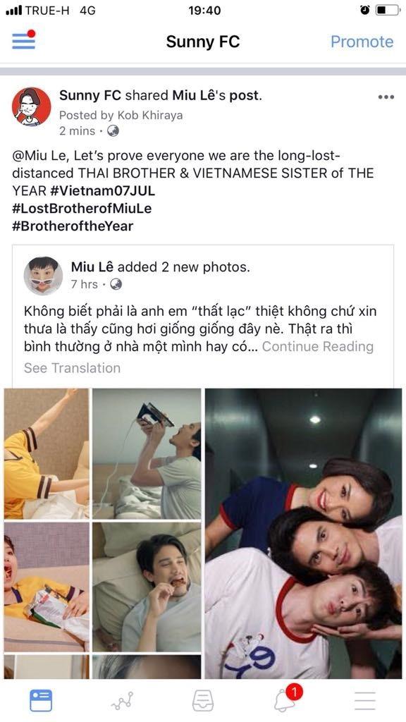 Miu Lê phát hiện anh trai thất lạc tận trời... Thái - ảnh 5
