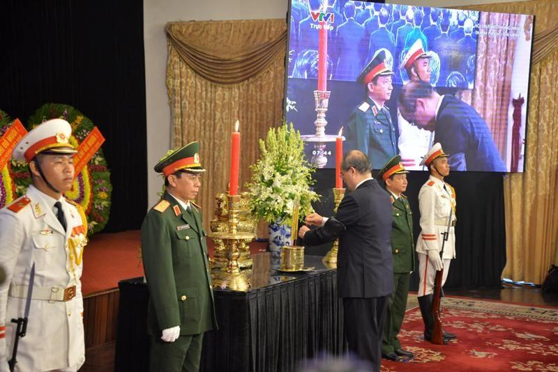 Trang trọng lễ viếng nguyên Tổng Bí thư Đỗ Mười tại TP.HCM - ảnh 3