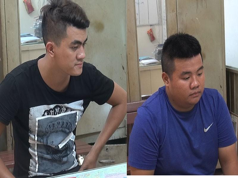 Đặc nhiệm truy bắt 2 thanh niên giật giỏ nữ du khách  - ảnh 1