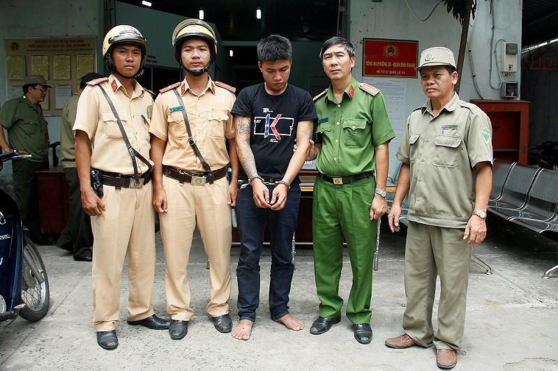 Một người Đài Loan lần theo định vị bắt kẻ cướp giật ở TP.HCM - ảnh 1
