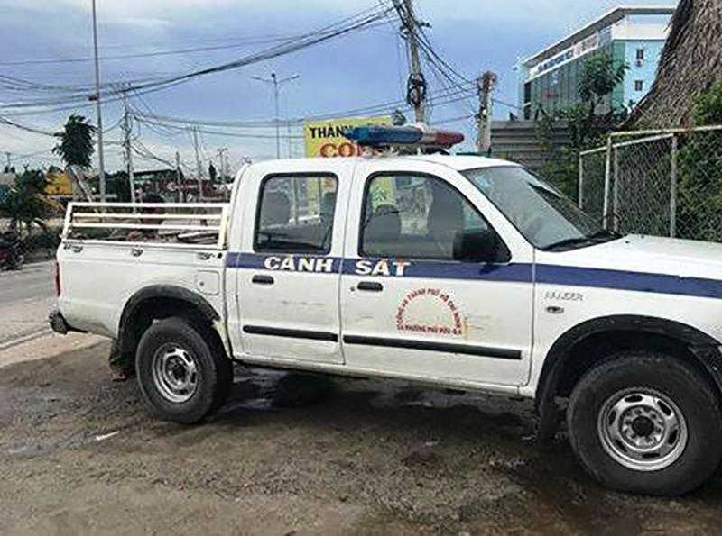 Trộm container ở quận 9 đem sang Bình Dương tháo 6 bánh xe - ảnh 1