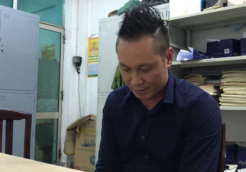 Nam quản lý Nguyễn Huy Hoàng . Ảnh HT.