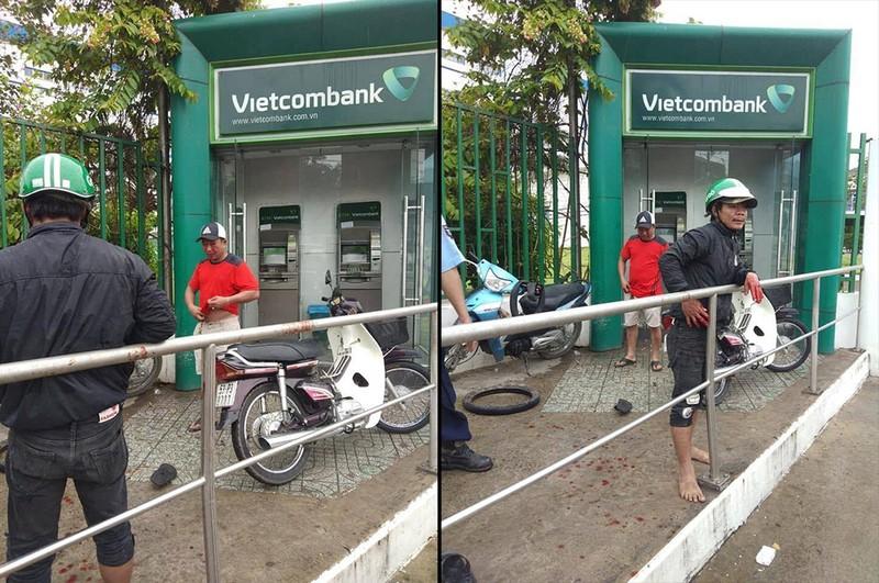 Cảnh giác: Xát ớt vào mắt người rút tiền tại trụ ATM để cướp - ảnh 1