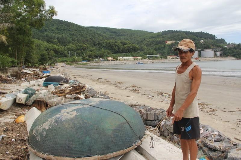 Đà Nẵng: Nhà cách biển cả trăm mét, nay chỉ còn 10 m - ảnh 2