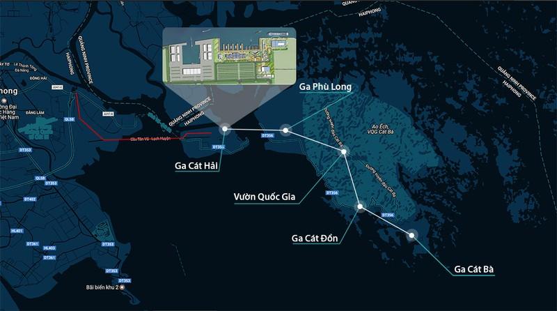 Hải Phòng đề nghị làm cáp treo dài nhất thế giới - ảnh 1
