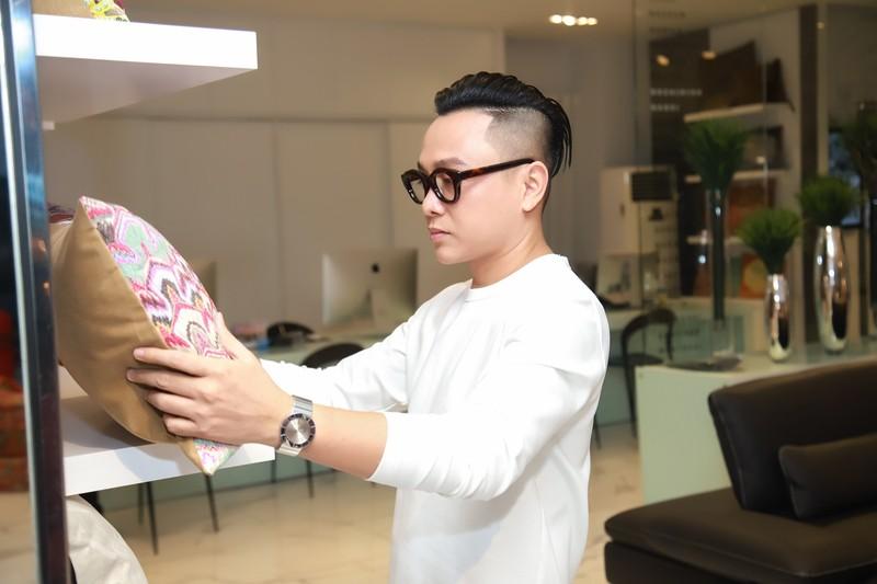 NTK Nguyễn Công Trí bắt tay doanh nhân làm show thời trang - ảnh 3