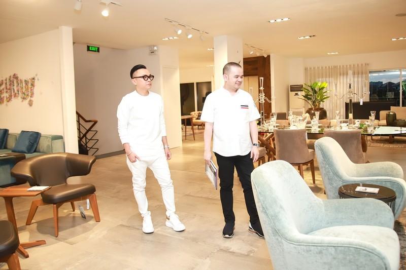 NTK Nguyễn Công Trí bắt tay doanh nhân làm show thời trang - ảnh 2