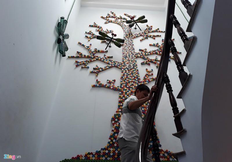Ngôi nhà đặc biệt với nội thất làm từ 10.000 chai thủy tinh - ảnh 8