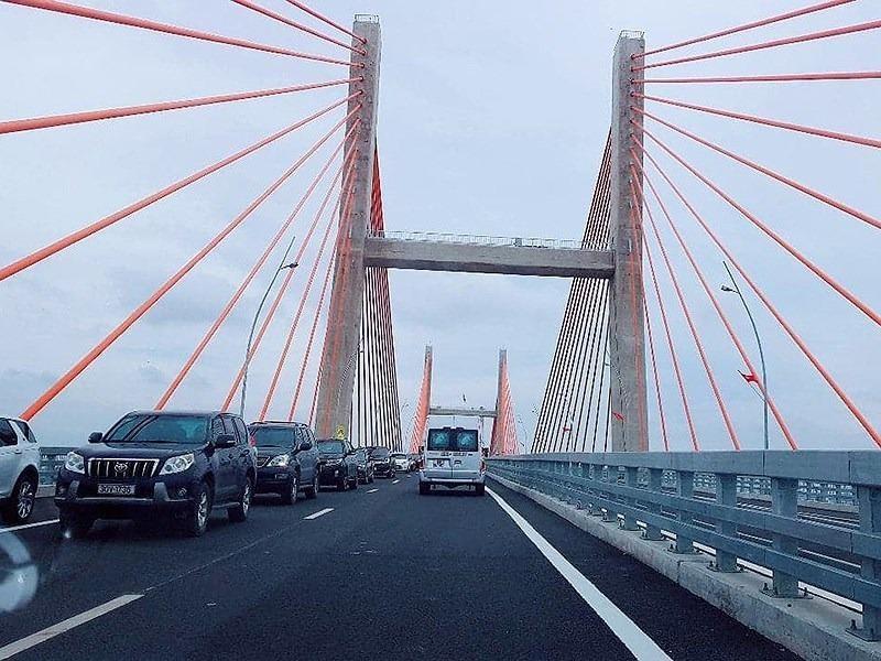 Nghiên cứu giảm tốc độ xe qua cầu Bạch Đằng - ảnh 1