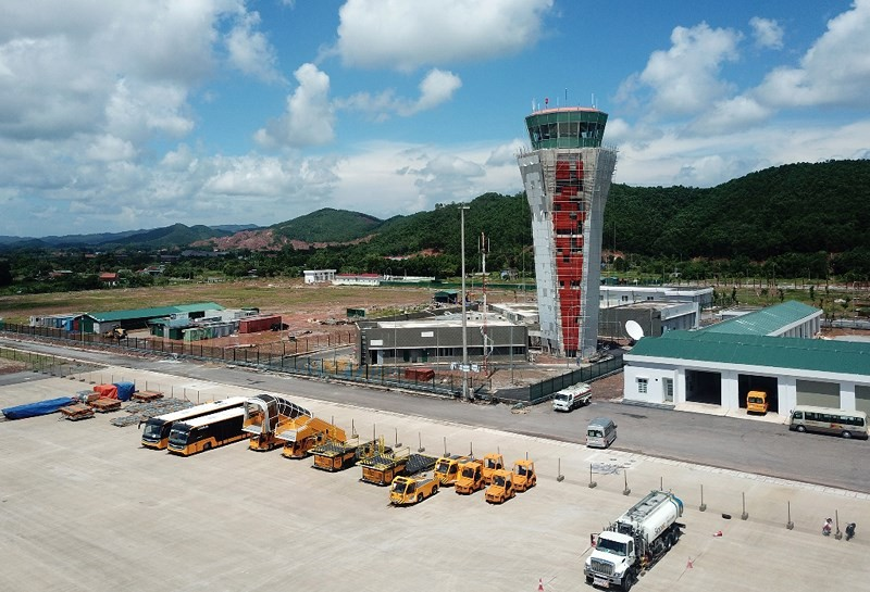 Van Don Airport will raise its first flight at the end of the year - picture 1