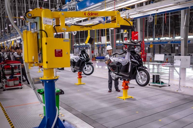 'Đột nhập' nhà máy xe hai bánh hiện đại nhất Đông Nam Á - ảnh 9