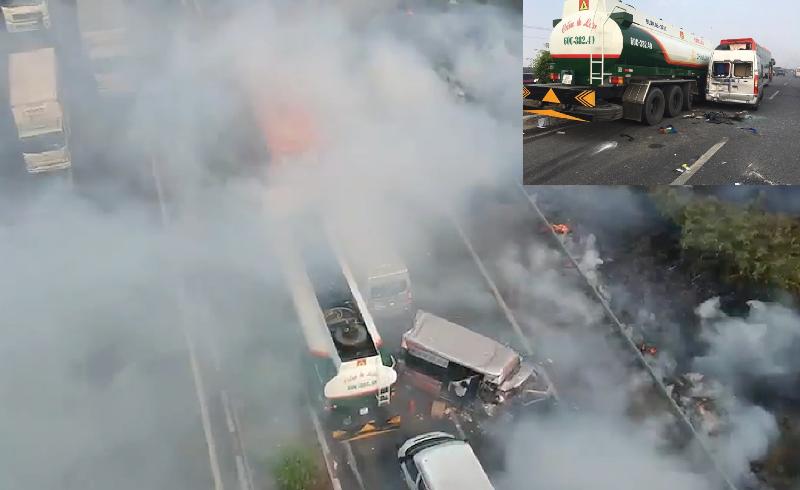 Vụ tai nạn liên hoàn trên cao tốc: Lỗi tại ai? - ảnh 1