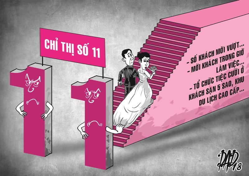 Nhiều cán bộ bị kỷ luật vì mời cưới quá 300 khách - ảnh 1