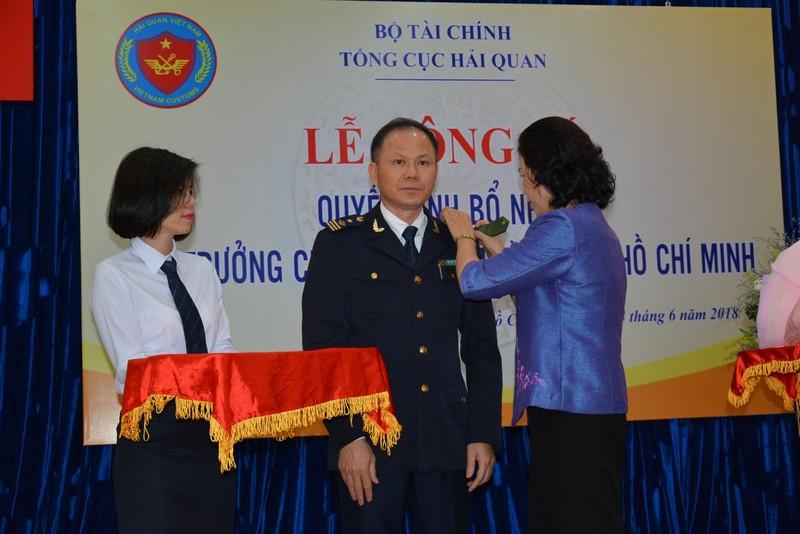 Ông Đinh Ngọc Thắng giữ chức cục trưởng Cục Hải quan TP.HCM  - ảnh 2