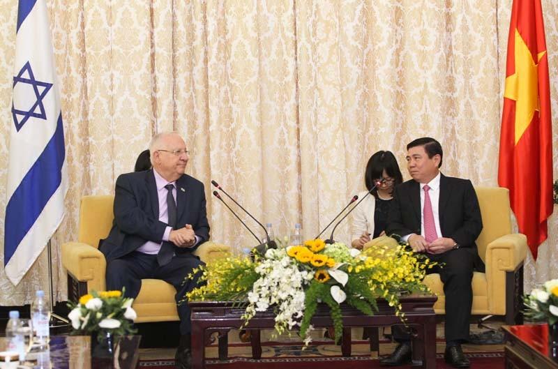 TP.HCM mong Israel hỗ trợ phát triển khởi nghiệp - ảnh 1