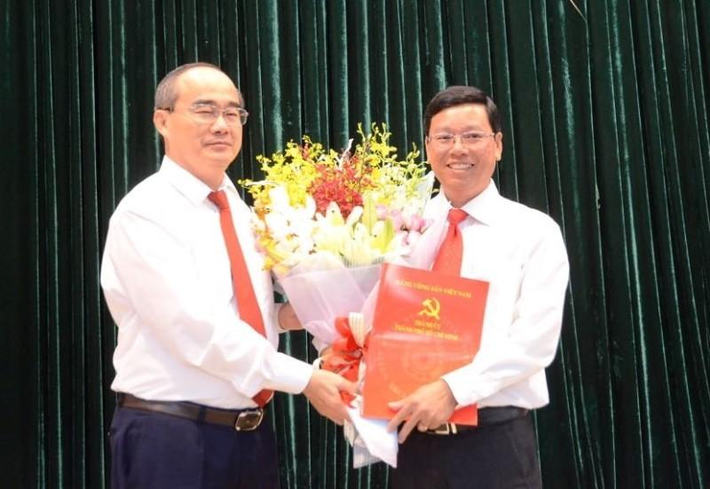 Ông Vũ Ngọc Tuất làm bí thư Quận ủy Bình Thạnh - ảnh 1