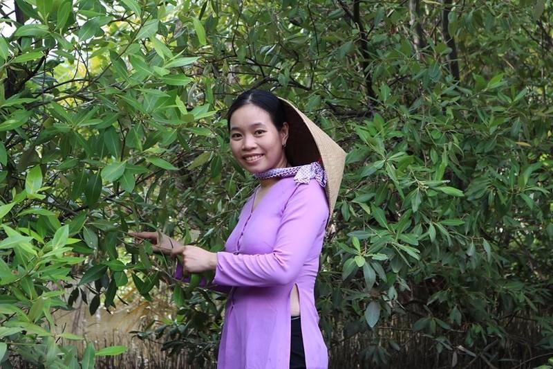Cô gái Bến Tre mang đặc sản rừng nước mặn lên phố  - ảnh 1