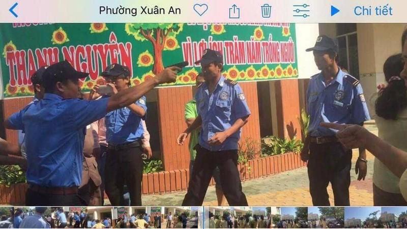 Bình Thuận yêu cầu làm rõ vụ vào trường còng tay  - ảnh 1