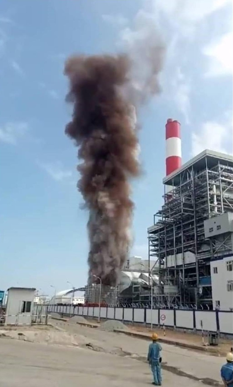Vĩnh Tân 1 lên tiếng về việc thông lò hơi, khói bốc cao - ảnh 4