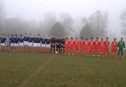 U19 Việt Nam hòa trận thứ 2 trên đất Anh - ảnh 1