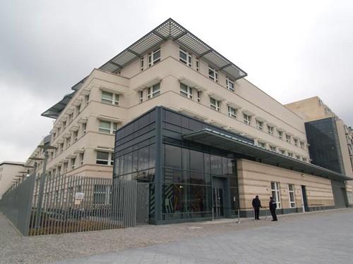 Trụ sở Sứ quán Mỹ tại Berlin, Đức.