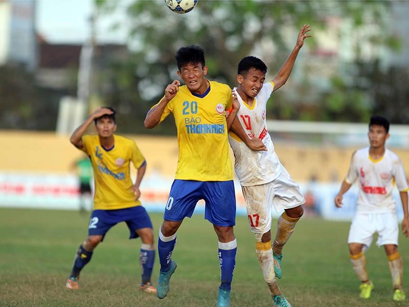 VCK U-19 quốc gia: PVF loại SL Nghệ An - ảnh 1