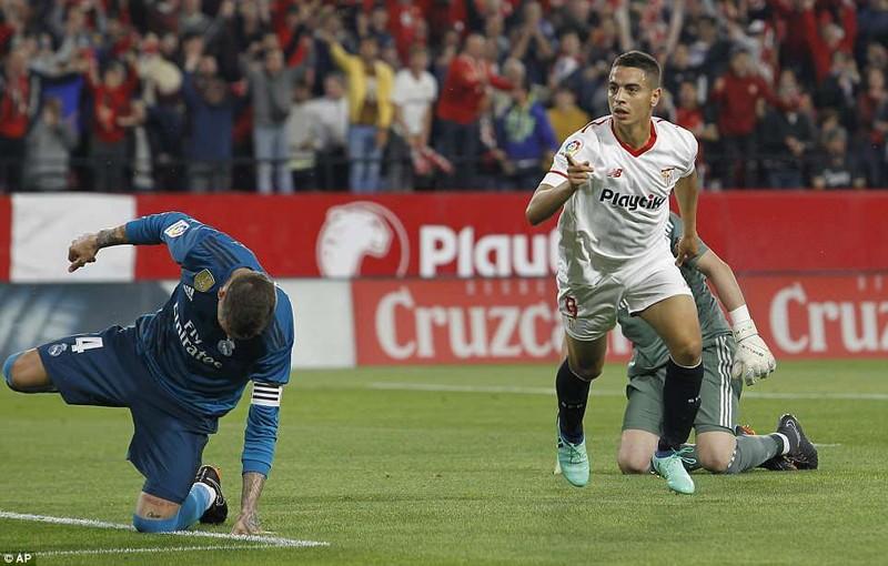 """Real Madrid """"buông"""" trong trận đấu kỳ lạ của đội trưởng Ramos - ảnh 2"""