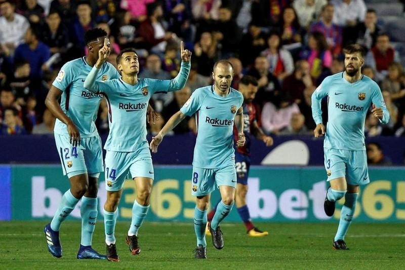 Vắng Messi, Barcelona đứt chuỗi bất bại trong trận đấu điên rồ - ảnh 2