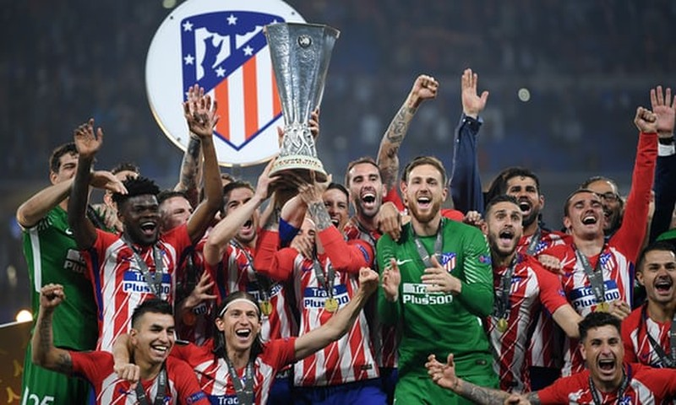 Griezmann rực sáng, Atletico Madrid vô địch Europa League - ảnh 9