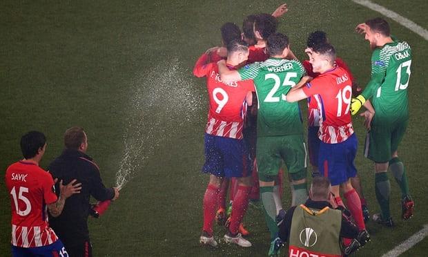 Griezmann rực sáng, Atletico Madrid vô địch Europa League - ảnh 8