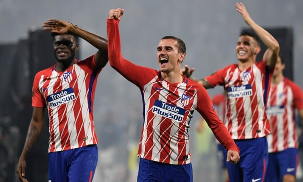 Griezmann rực sáng, Atletico Madrid vô địch Europa League - ảnh 5
