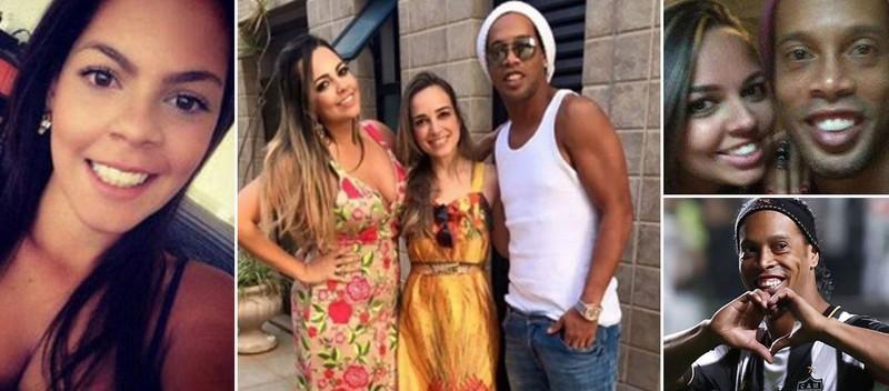 Sốc: Ronaldinho công khai kết hôn với 2 phụ nữ cùng lúc - ảnh 1