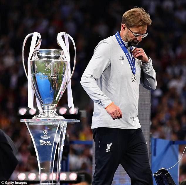 Thua chung kết Champions League, HLV Klopp lập kỷ lục buồn - ảnh 3